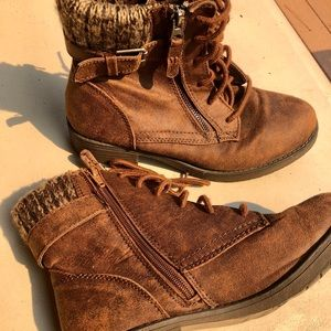 Faded Glory size 8 ankle bootie